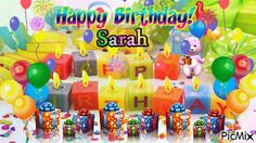 Happy Birthday Sarah Funny, Images, Meme And Wishes Messages Happy Birthday Sarah, Sarah H, Wishes Messages, Birthdays, Memes, Anniversaries, Meme, Birthday, Birth Day