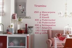 Recipe wall-ideas foodstuff-i-love
