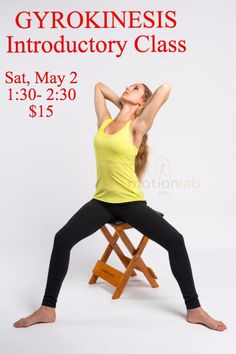 You are invited to Gyrokinesis Introductory Class