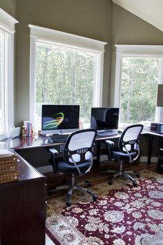 home office with a view just off the master bedroom custom desk shaped to bedroom home office view