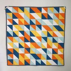 Finn's Quilt----love the palette and design!