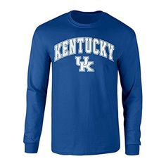Kentucky Wildcats Long Sleeve Tshirt Blue - XL #KentuckyBasketball #bbn #kentuckybball #UofK #uk #marchmadness #ncaatourney #universityofKentucky
