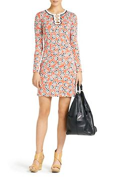 Even @DVF has some beautiful Indian Prints!   #DVF Odetta Dress In Indian Garden Red