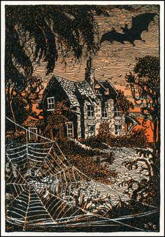 Spooky House(1930s) - Donn P. Crane