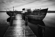 Old Scow by Nate Parker
