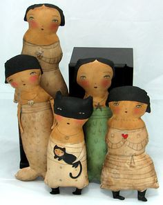 2007.11.26-A Doll Bunch by Danita Art, via Flickr
