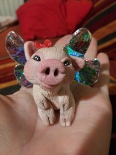 The Fairy Circle - My ooak : Mrs. Pig
