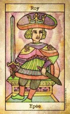 Tarot de Maria Celia, King of Swords