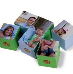 Perfect father's day gift from your kids: a picture puzzle  - how cute is this!