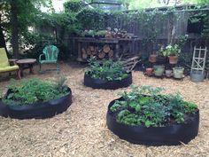 Big Bag Bed garden ideas
