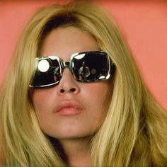brigitte bardot in square sunnies // vintage // retro // fashion icon // style idol // iconic women // 1960s // 60s