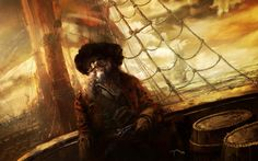 There are old pirates, and there are bold pirates...