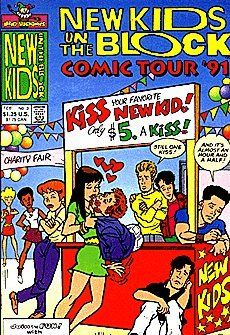 New Kids On The Block Comics Tour '90/91 (1990 series) #3 by Harvey Comics