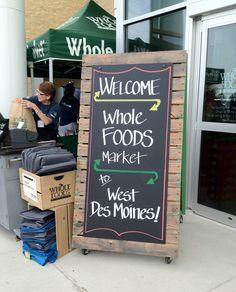 Whole Foods, West Des Moines  : )  #Whole_Foods #Iowa