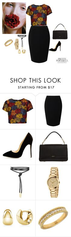"""""""elegant , classy , bossy"""" by chisomnatalie on Polyvore featuring Alice + Olivia, Jacques Vert, DKNY, Gucci, BERRICLE and Lord & Taylor"""