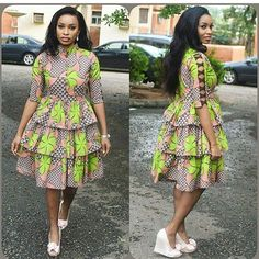 The best collection of unique and classic ankara gown styles of these ankara gowns are classically made African Fashion Designers, African Fashion Ankara, Latest African Fashion Dresses, African Print Fashion, Africa Fashion, African Style, Short African Dresses, Ankara Short Gown Styles, African Print Dresses