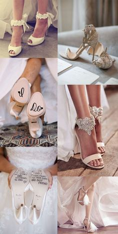 Ideas about trendy bridal shoes