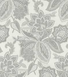 Waverly Upholstery Fabric-Treasure Trove Sterling