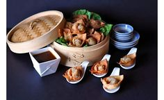 Duck Wontons with Spicy Hoisin Dipping Sauce - Our rich duck rillettes make a delicious filling for fried dumplings with the addition of a few simple ingredients. Because the filling is completely cooked, these wontons can be assembled ahead of time and quickly fried just before serving. #recipe #appetizer #partyfood #dartagnanfoods