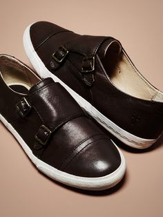 Mindy Monk Strap Sneaker from Frye Shoes & Handbags on Gilt