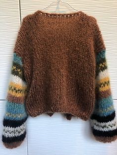 Min høstjakke Knitting pattern by Knit_by_Siv Siv Kristin - - This cardigan can be knitted by anyone. It is fast knitted on needle Pattern in Norwegian and English. See more See less. Sweater Knitting Patterns, Free Knitting, Knitting Sweaters, Hand Knitted Sweaters, Fair Isle Knitting, Knitting Designs, Pullover Sweaters, Crochet Pattern, Knit Crochet