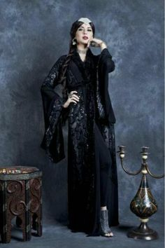 Queen of Spades #abaya . The Maharani Collection (Spring/Summer 2012)