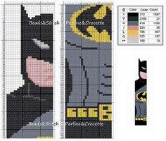 Batman segnalibro puntocroce