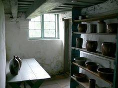 Rømø ( Denmark ). Kommandørgård National Museum - Kitchen:Larder.