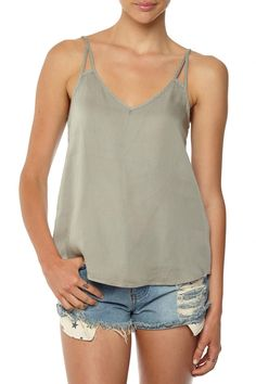 tully cage back cami