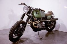 BMW Scrambler from Kevil's Speed Shop.Based on the BMW R100RS.