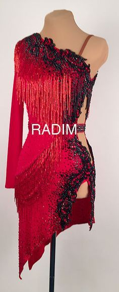 A collection of Latin Ballroom Dresses and Rhythm Dresses available for purchase. More
