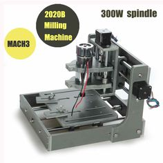 Mini cnc milling machine Mach 3 DIY pcb milling machine 2020B for wood engraving 300w spindle motor ER11 cnc wood lathe router-in Wood Router from Industry & Business on Aliexpress.com | Alibaba Group