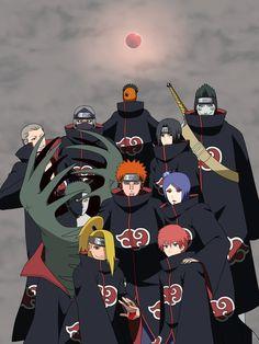 Whos your favorite Akatsuki member? Naruto Vs Sasuke, Naruto Uzumaki Shippuden, Naruto Shippuden Sasuke, Naruto Sippuden, Wallpaper Naruto Shippuden, Naruto Cute, Minato Kushina, Wallpapers Naruto, Animes Wallpapers