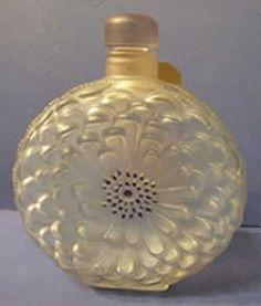 *1931 R. Lalique Perfume Bottle Dahlia 13cm for Maison Lalique