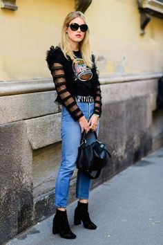 Obsessed with this grunge but super chic outfit.