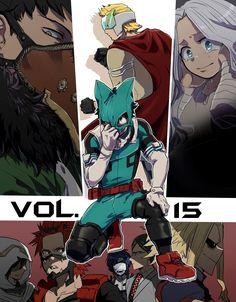 Boku no Hero Academia || Overhaul/Chisaki Kai || Togata Mirio/Lemillion || Eri || Midoriya Izuku/Deku || Sun Eater/Tamaki Amajiki || Red Riot/Eijirou Kirishima || Bubble Girl/Kaoruko Awata || Nighteye || Toshinori Yagi/All Might
