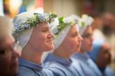 NOVITIATE RITE OF INVESTITURE CEREMONY - DAUGHTERS OF MARY OF NAZARETH