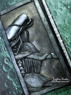 Agendina Telefonica Alien - Book Phone Alien List    #fantasy #handmade #phone #gift #idearegalo #christmas #fogliaviolastyle #ooak #art #design #collection #decor #scifi #alien #ripley #xenomorfo #book #journal #notebook #agenda #diario #diary #movie
