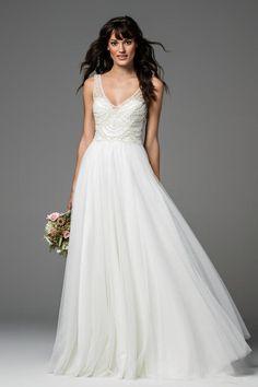 Willowby Wedding Dress Locket Wattersin Willowby hääpukuja myy Suomessa vain Glamour Lahdessa (www.glamourlahti.fi/)