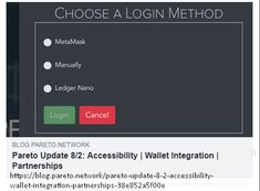 On the development server some product updates can be seen getting ready for primetime, such as the ability to log in by manually signing your wallet address, and by using a Ledger… Moving Forward, Integrity, Blockchain, Cryptocurrency, Read More, Content, Wallet, Check, Blog