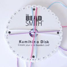 Tutorial: Como hacer pulseras trenzadas con el disco Kumihimo.