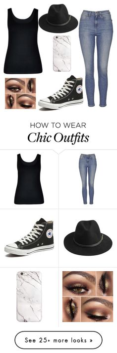 """Thoughts against you"" by lolgirl07 on Polyvore featuring City Chic, Topshop, Converse, BeckSöndergaard, women's clothing, women's fashion, women, female, woman and misses"