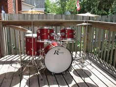 Please only post complete/restored drums in the gallery. Rogers Drums, Drums Beats, Vintage Drums, Music School, Drum Kits, Music Instruments, Dope Music, Drummers, King