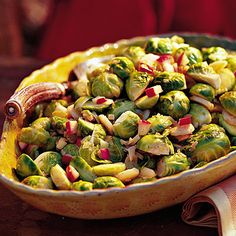 Brussels Sprouts with Apples - Best Apple Recipes - Southern Living