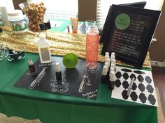 very cute essential oils make and take party- lots of great ideas!