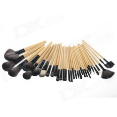MeGooDo CB82069 32-in-1 Professional Womens Makeup Cosmetic Brush Set w/ Roll-up Carrying Case