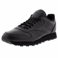 8cb50e1d02e Men S Classic Leather Low Sneaker - Mono. All Black SneakersLeather ...