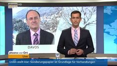 Dennis Snower zum 48. Weltwirtschaftsforum in Davos am 23.01.18