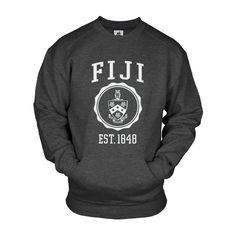 FIJI Pocket Crew Sweatshirt
