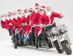 All I want for Christmas is a Harley limo....